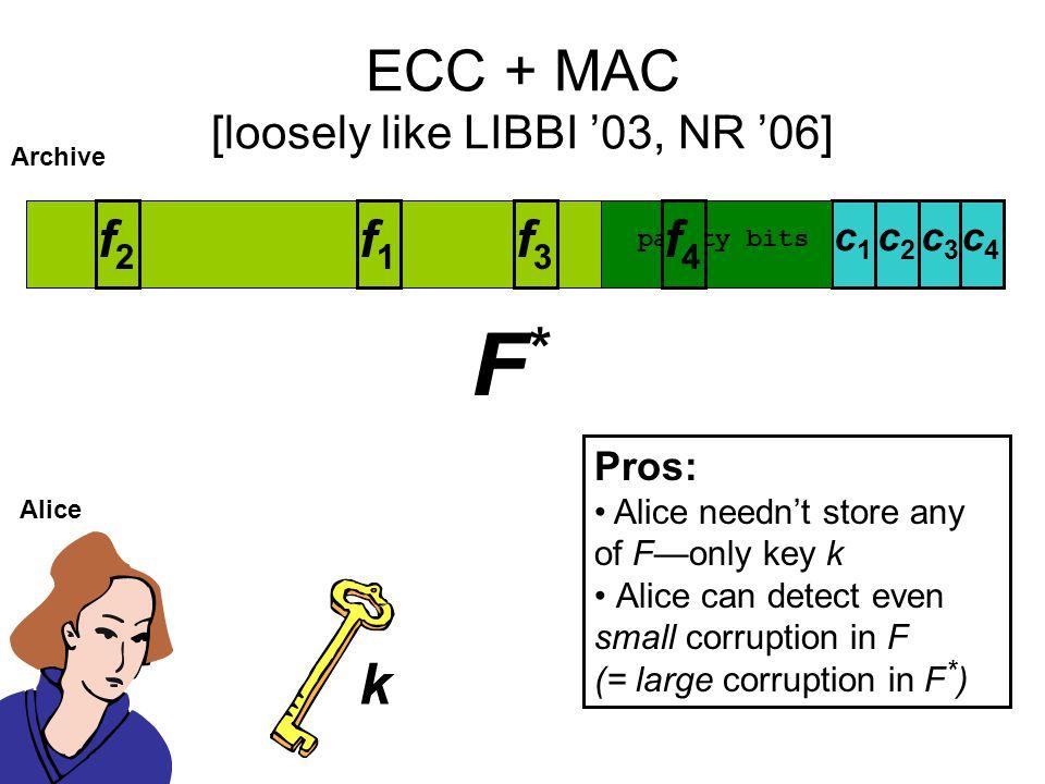 ECC + MAC [loosely like LIBBI '03, NR '06]